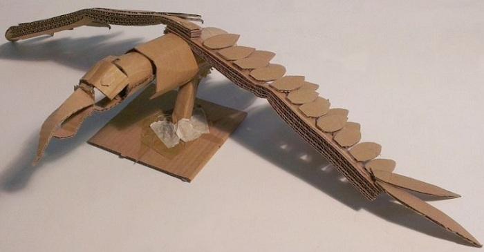 Mainan Pesawat Keren Dari Kardus