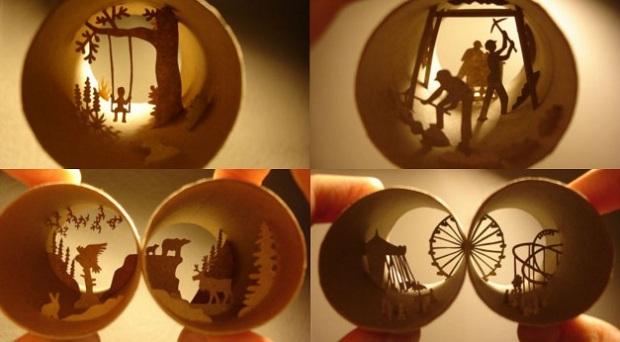 Miniatur Keren Dari Kardus