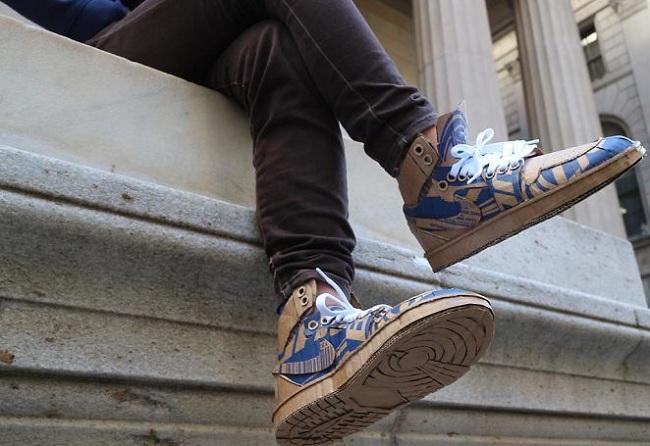 Sepatu Keren Dari Kardus