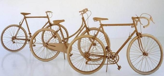 Sepeda Pancal Dari Kardus