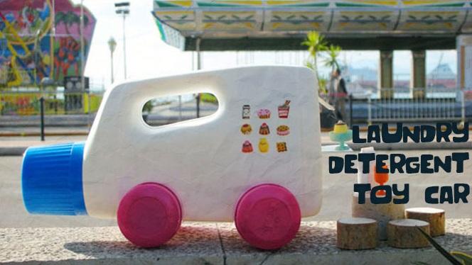 Mobil Botol Mainan Dari Botol Deterjen
