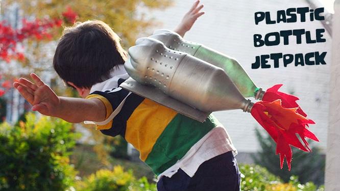 Roket Punggung Atau Jetpack Dari Botol Bekas