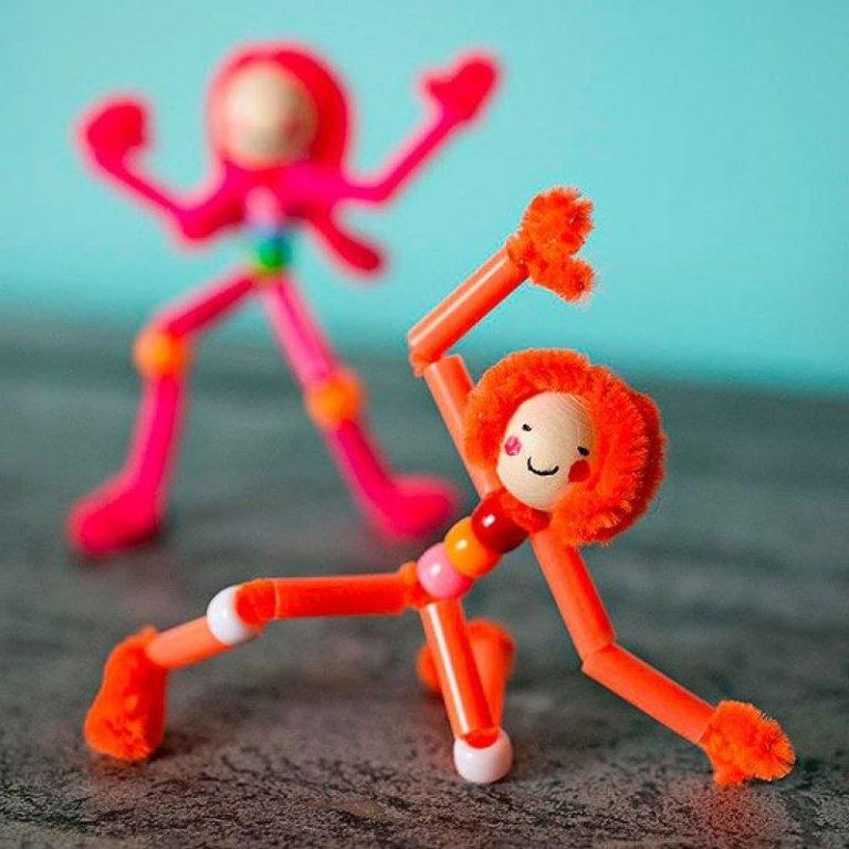 Boneka Stickman Dari Sedotan Via Hidupsimpel.com