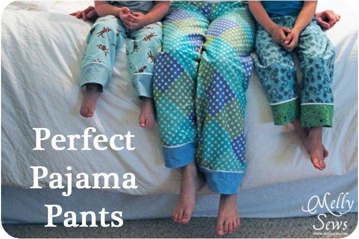 Celana Piyama Dari Kain Flanel Via Mellysews.com
