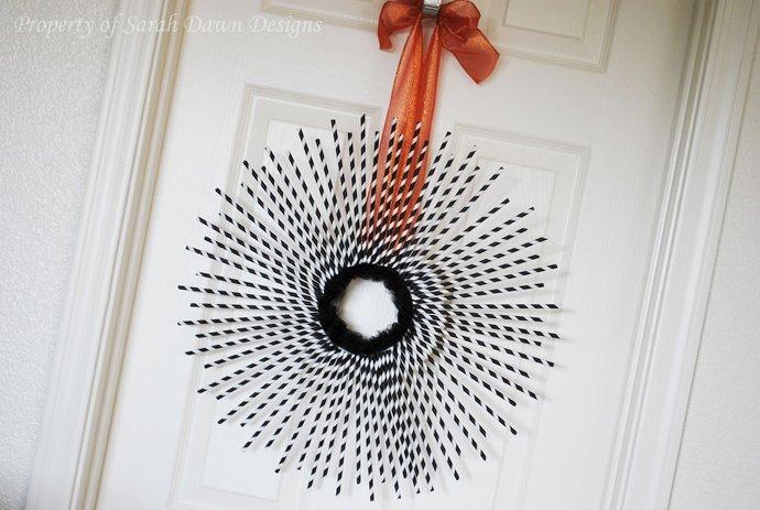 Hiasan Pintu Dari Sedotan Via Sensod.com