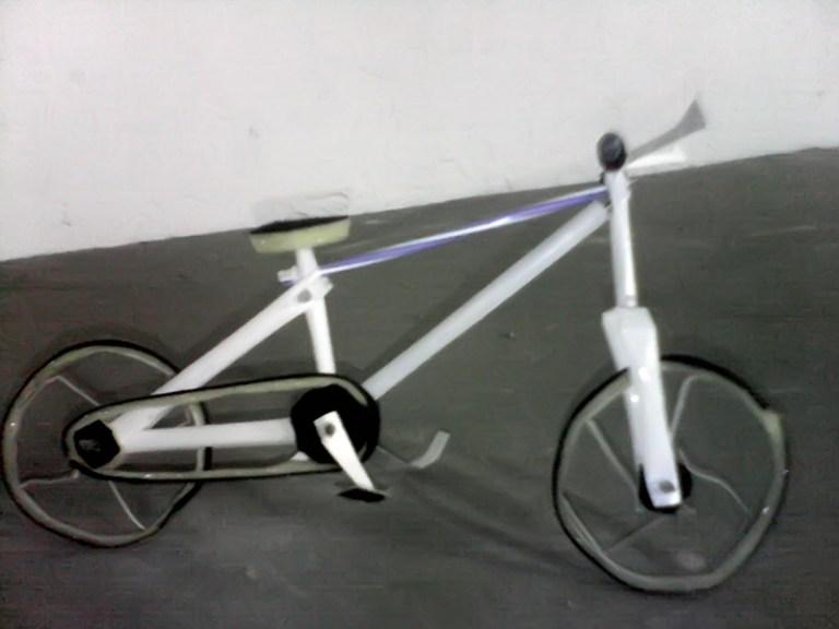 Kerajinan Sepeda Mini Dari Sedotan Plastik Via Cumacumacumasatu.blogspot.com