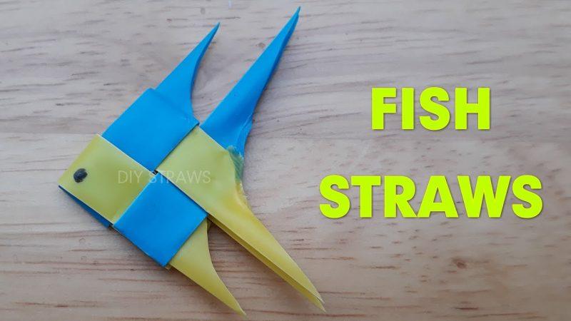 Mainan Ikan Dari Sedotan Plastik Via Youtube.com