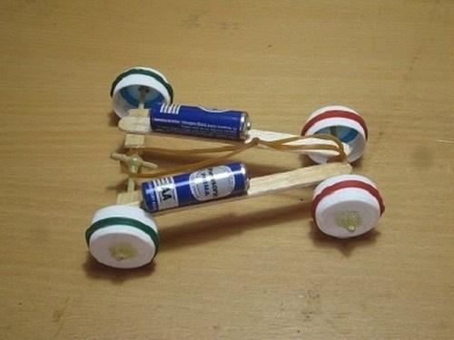 Mobil Mainan Dari Stik Es Krim