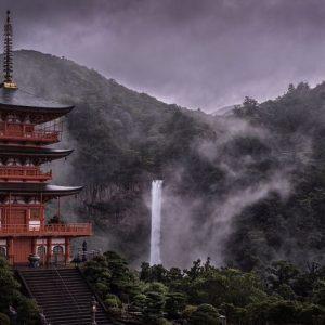 10+ Foto Pemandangan Indah Negara Jepang di Musim Hujan