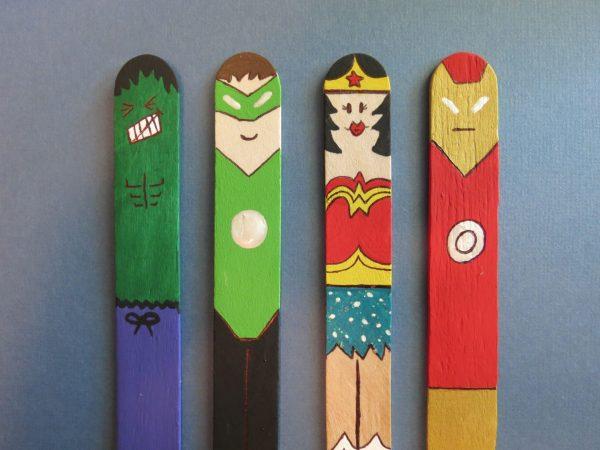 Super Hero Dari Stik Es Krim