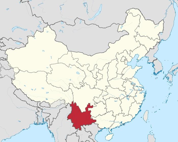 Wilayah Yunnan Di China