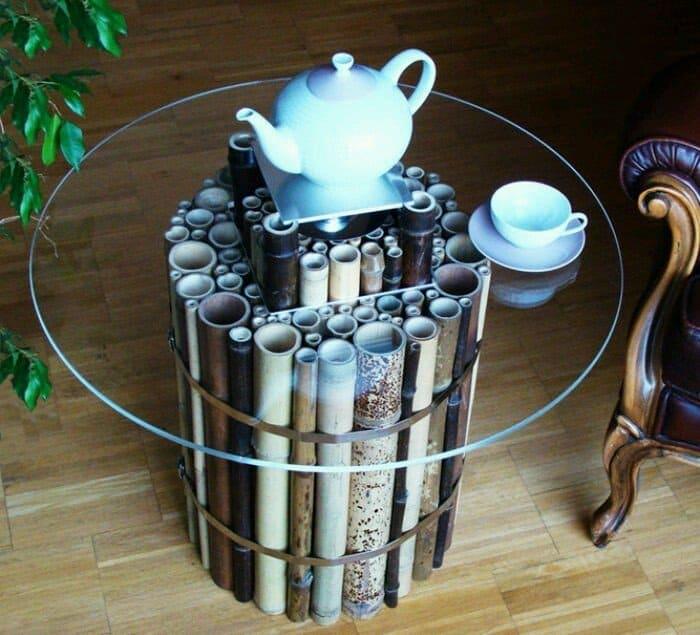 Tatakan Cangkir Dari Bambu