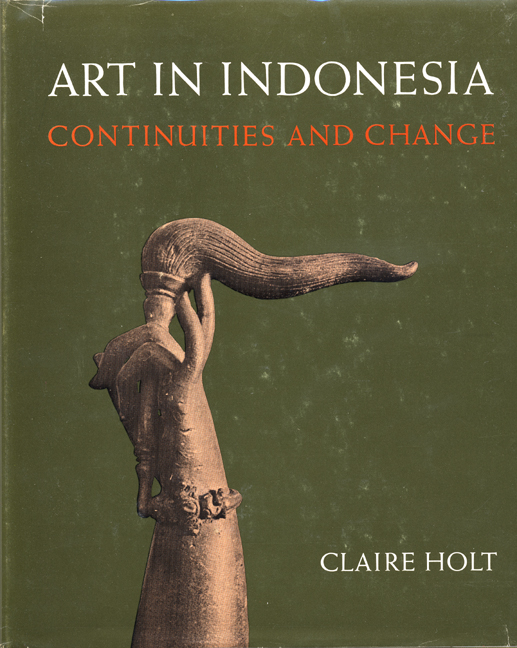 Buku Art In Indonesia Oleh Claire Holt