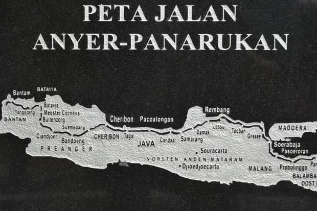 Peta Jalan Raya Anyer Panarukan