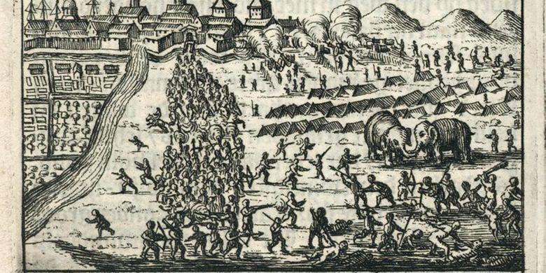 Serangan Mataram Ke Batavia Tahun 1628