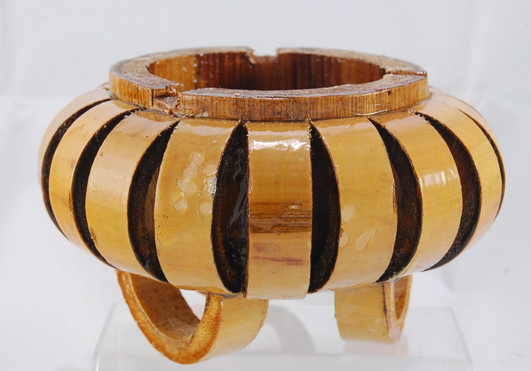 Asbak Dari Bambu