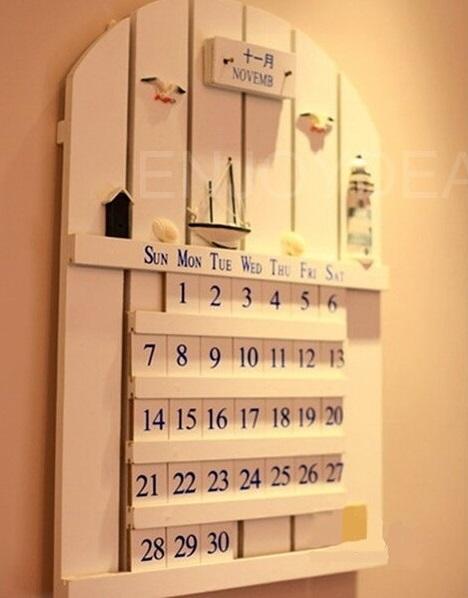 Kalender Gantung Dari Kayu