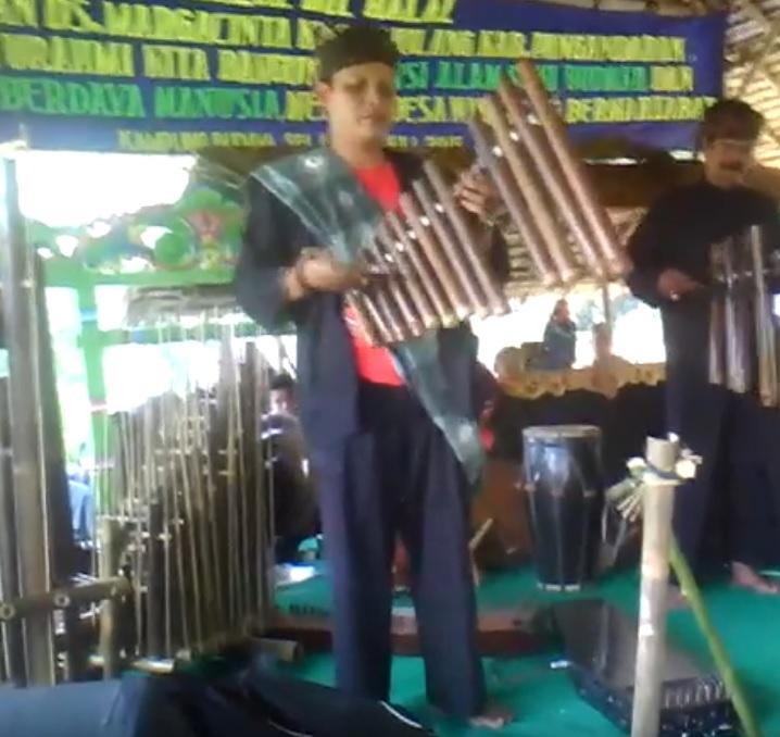 Alat Musik Calung Jinjing Dari Sunda