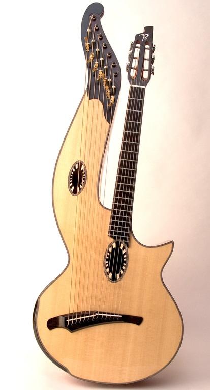 Alat Musik Harpa Gitar