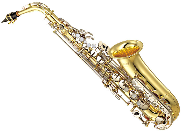 Alat Musik Modern Yamaha Standard Eb Alto Saxophone