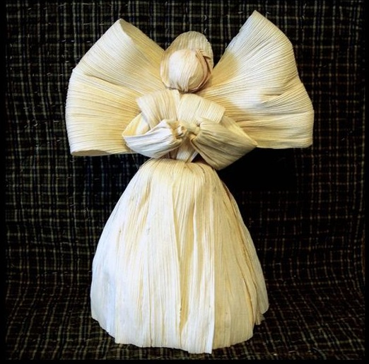 Boneka Malaikat Dari Kulit Jagung