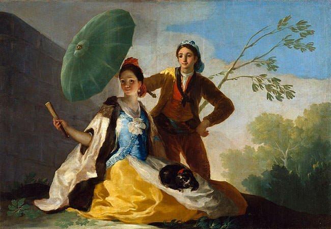 Lukisan Fransisco Goya Berjudul El Quitasol
