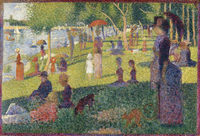 Lukisan Karya George Seurat