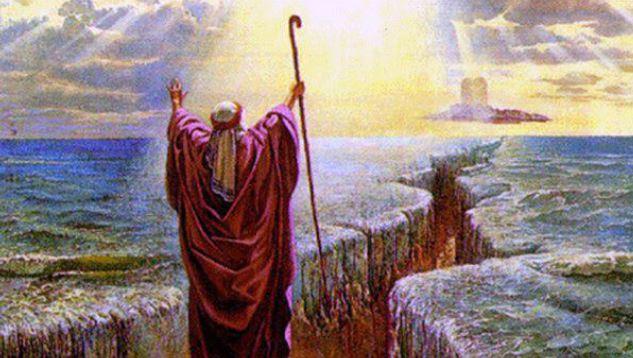 Nabi Musa Membelah Laut Merah Dalam Kisah Nabi Musa