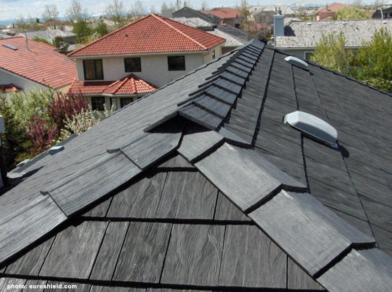 Atap Rumah Dari Ban Karet Bekas