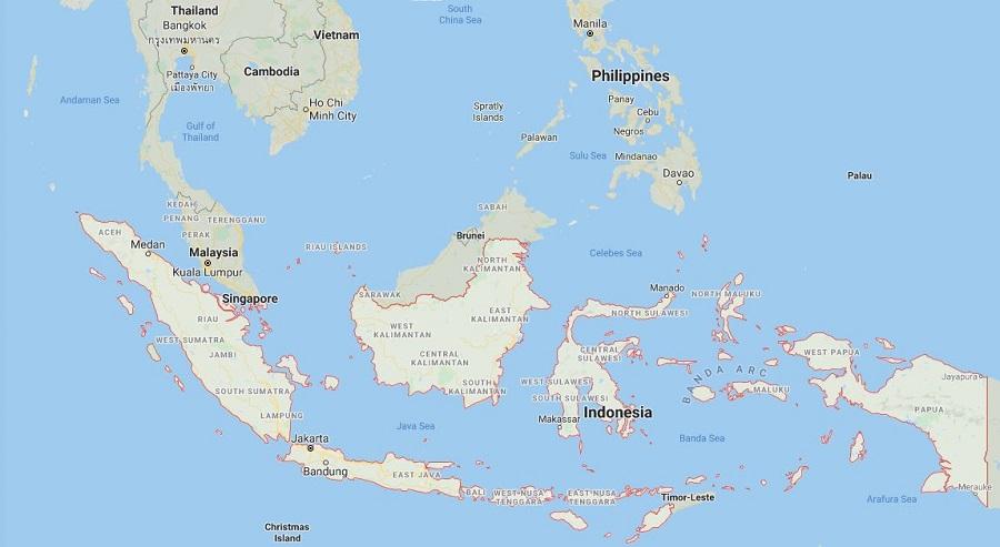 Indonesia Terletak Diantara Dua Benua Dan Dua Samudra